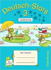 Stars: Deutsch-Stars 3 Lesetraining - фото обкладинки книги