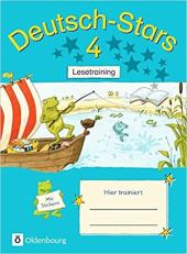 Stars: Deutsch-Stars 4 Lesetraining - фото обкладинки книги