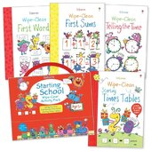 Starting School. Wipe-Clean Activity Pack - фото обкладинки книги