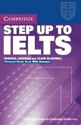 Step Up to IELTS. Personal Study Book with Key - фото обкладинки книги
