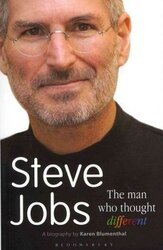 Steve Jobs The Man Who Thought Different - фото обкладинки книги
