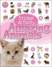 Sticker Activity: Amazing Animals - фото обкладинки книги