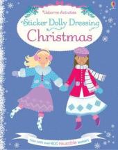 Sticker Dolly Dressing Christmas - фото обкладинки книги