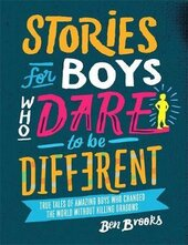 Stories for Boys Who Dare to be Different - фото обкладинки книги