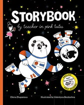 Storybook by teacher in pink tutu - фото обкладинки книги