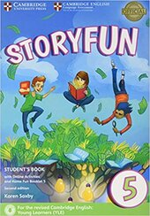 Storyfun (2nd Edition) 5 (Flyers) Student's Book with Online Activities and Home Fun Booklet - фото обкладинки книги