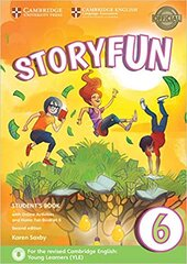 Storyfun (2nd Edition) 6 Student's Book with Online Activities and Home Fun Booklet 6 - фото обкладинки книги