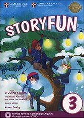 Storyfun (2nd Edition) for Movers Level 3 Student's Book with Online Activities and Home Fun Booklet 3 - фото обкладинки книги
