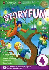 Storyfun (2nd Edition) for Movers Level. 4 Student's Book with Online Activities and Home Fun Booklet 4 - фото обкладинки книги