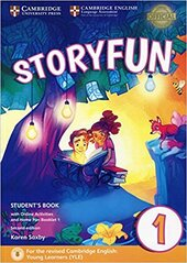 Storyfun (2nd Edition) for Starters Level 1 Student's Book with Online Activities and Home Fun Booklet 1 - фото обкладинки книги