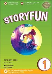 Storyfun (2nd Edition) for Starters Level 1 Teacher's Book with Audio - фото обкладинки книги