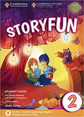 Storyfun (2nd Edition) for Starters Level 2 Student's Book with Online Activities and Home Fun Booklet - фото книги