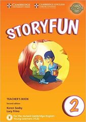 Storyfun (2nd Edition) for Starters Level 2 Teacher's Book with Audio - фото обкладинки книги