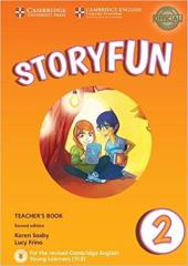 Storyfun (2nd Edition) for Starters Level 2 Teacher's Book with Audio - фото обкладинки книги