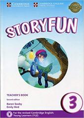 Storyfun (2nd Edition) Level 3 Teacher's Book with Audio - фото обкладинки книги