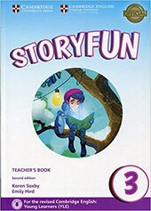 Storyfun (2nd Edition) Level 3 Teacher's Book with Audio - фото обкладинки книги