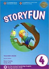 Storyfun (2nd Edition) Level 4 Teacher's Book with Audio - фото обкладинки книги