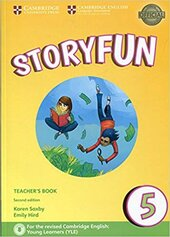 Storyfun (2nd Edition) Level 5 Teacher's Book with Audio - фото обкладинки книги