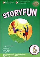 Storyfun (2nd Edition) Level 6 Teacher's Book with Audio - фото обкладинки книги