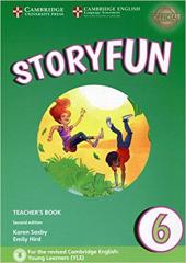 Storyfun (2nd Edition) Level 6 Teacher's Book with Audio - фото обкладинки книги
