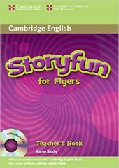 Storyfun for Flyers Teacher's Book with Audio CDs (2) - фото обкладинки книги