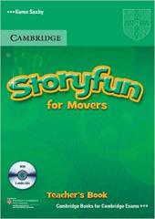 Storyfun for Movers Teacher's Book with Audio CDs (2) - фото обкладинки книги