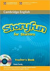 Storyfun for Starters Teacher's Book with Audio CD - фото обкладинки книги