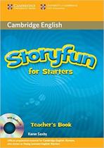 Книга для вчителя Storyfun for Starters Teacher's Book with Audio CD