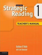 Strategic Reading 2nd Edition Level 1. Teacher's Manual - фото обкладинки книги