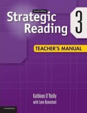 Strategic Reading 2nd Edition Level 1. Teacher's Manual - фото обкладинки книги