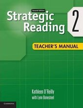 Strategic Reading 2nd Edition Level 2. Teacher's Manual - фото обкладинки книги