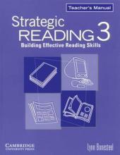 Strategic Reading 3. Teacher's manual - фото обкладинки книги