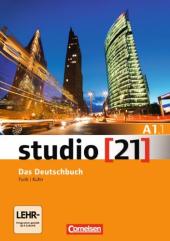 Studio 21 A1/1. Deutschbuch mit DVD-ROM (підр. з інтегрованим роб.зошитом+інтер.диск.Част.1) - фото обкладинки книги