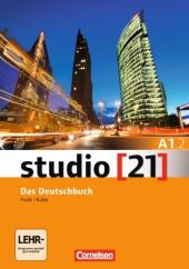 Studio 21 A1/2. Deutschbuch mit DVD-ROM (підр. з інтегрованим роб.зошитом+інтер.диск.Част.2) - фото обкладинки книги