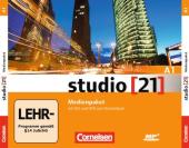 Studio 21 A1. Medienpaket Audio CDs mit DVD (набір із 4 аудіодисків та відео DVD) - фото обкладинки книги