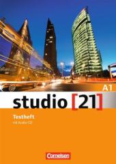 Studio 21 A1. Testheft mit Audio CD (тестові завдання до підручника + аудіодиск) - фото обкладинки книги