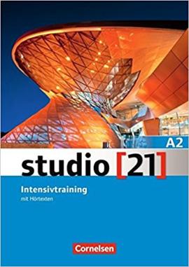 Studio 21 A2. Intensivtraining mit Hrtexten (посібник з грам. та лексичної практики) - фото книги