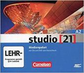 Studio 21 A2. Medienpaket Audio CDs mit DVD (набір із 4 аудіодисків та відео DVD) - фото обкладинки книги