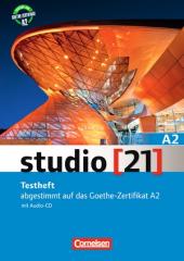 Studio 21 A2. Testheft mit Audio CD (тестові завдання до підручника + аудіодиск) - фото обкладинки книги