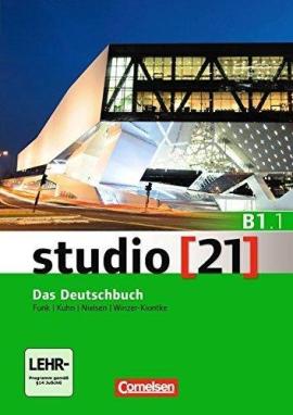 Studio 21 B1/1. Deutschbuch mit DVD-ROM (підр. з інтегрованим роб.зошитом+інтер.диск.Част.1) - фото книги