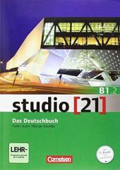 Studio 21 B1/2. Deutschbuch mit DVD-ROM (підр. з інтегрованим роб.зошитом+інтер.диск.Част.2) - фото обкладинки книги