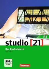 Studio 21 B1. Deutschbuch mit DVD-ROM (підручник з інтегрованим роб.зошитом+інтерактивний диск) - фото обкладинки книги