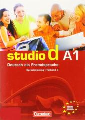 Studio d A1/2. Sprachtraining mit eingelegten Losungen (до розділі 7-12) - фото обкладинки книги