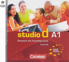 Studio d A1. Audio CDs (набір із 2 аудіодисків) - фото книги