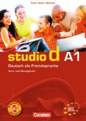 Studio d A1. bungsbooklet zum Video (брошура із завданнями до відео) - фото обкладинки книги