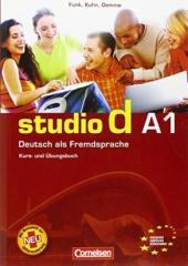 Studio d A1. Kurs- und Ubungsbuch mit Lerner CD (підручник+роб.зошит+аудіодиск) - фото обкладинки книги