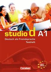 "Studio d A1. Testvorbereitungsheft A1 und Modelltest ""Start Deutsch 1"" Mit CD (тестові завдання + аудіодиск) - фото обкладинки книги"