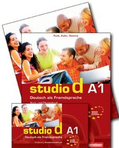 Studio d A1. Unterrichtsvorbereitung interaktiv auf CD-ROM .DVD.CDs (інтерактивна програма для вчителя) - фото обкладинки книги