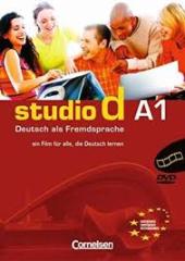 Studio d A1. Video-DVD mit Ubungsbooklet (диск із відеосюжетами+брошура із завданнями) - фото обкладинки книги