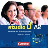 Studio d A2/1. CD (до розділів 1-6) - фото обкладинки книги